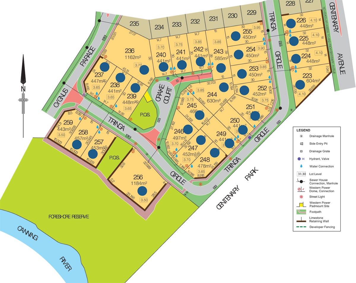 Cygnia Cove Sales Plan Stage 4