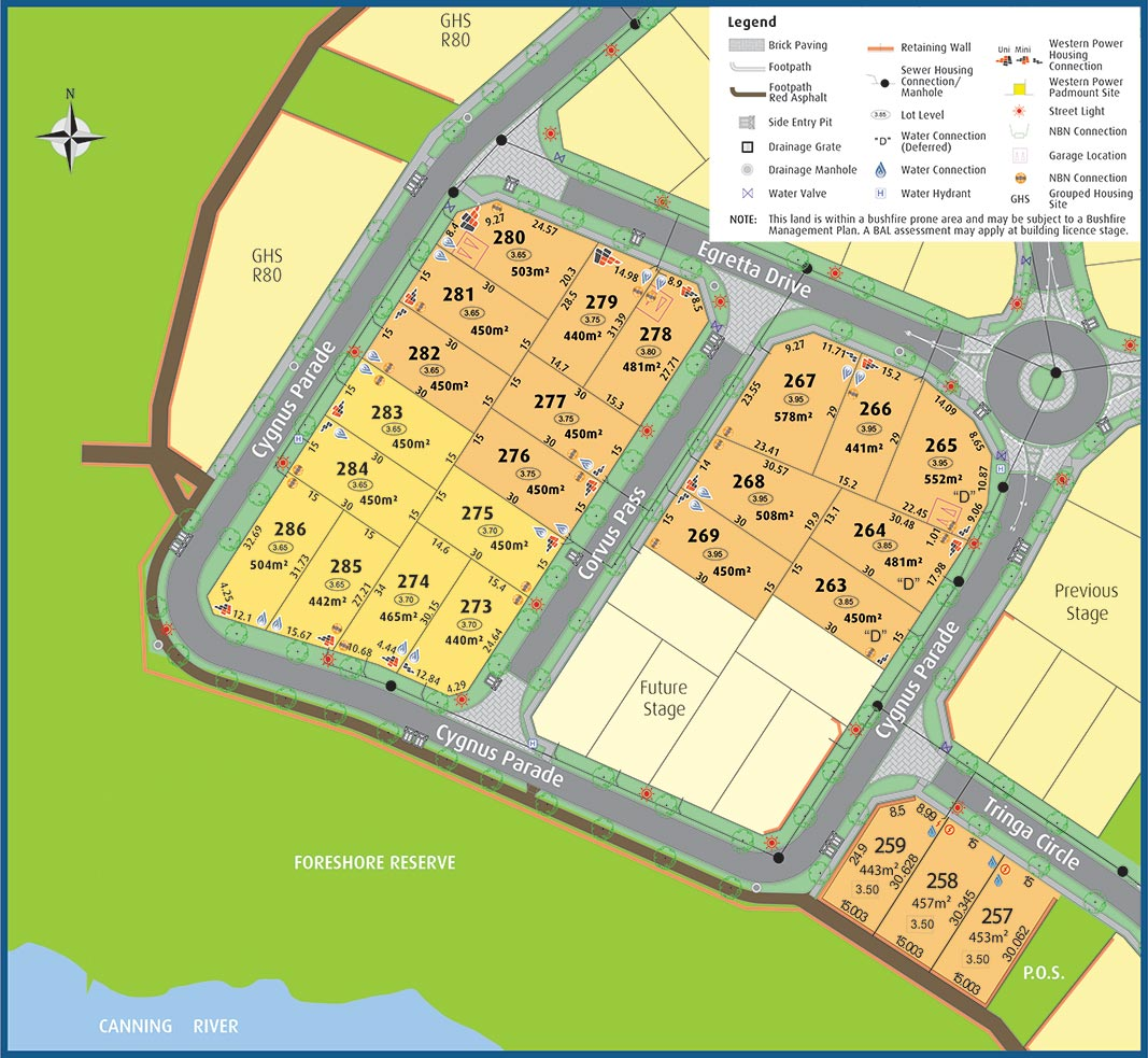 Cygnia Cove Sales Plan Stage 5A